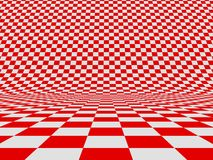 Checker. Abstract checker background. 3d image Stock Photo