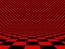 Checker. Abstract checker background. 3d image Royalty Free Stock Photos
