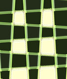Checker. Design is create by using dark green against light green whic give a very contrasting effect Stock Photography