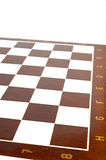 Checker Board. White background isolated royalty free stock photography