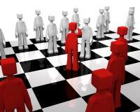 Checker board game world peace concept Royalty Free Stock Photos