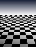 Checker Board Pattern Background - vector illustra. Abstract Checker Board Pattern in perspective - vector illustration Stock Photos