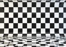 Checker deskowy pokój Zdjęcie Royalty Free