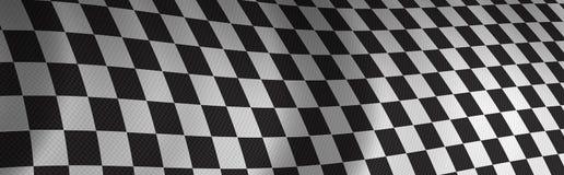 checker flagę Obraz Stock