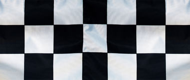 Checker flag background Royalty Free Stock Photography