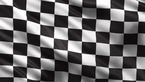 Checker flaga - bezszwowa pętla ilustracji