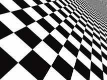 Checker floor Stock Photo