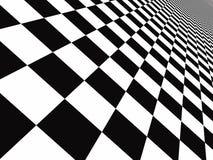 Checker floor Stock Photo