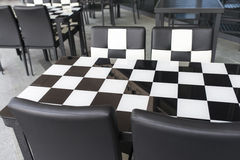 Checker Furniture Stock Photography