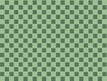 Checker pattern with carved cubes Stock Photos
