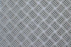 Checker plate. Metallic background structure checker plate royalty free stock image