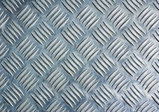 Checker plate. Metal checker plate, cool background royalty free stock images