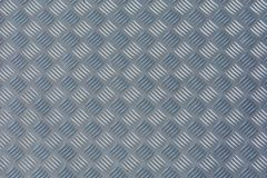 Checker plate as metal texture stock photo