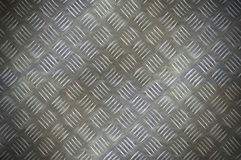 Checker plate background Royalty Free Stock Photo
