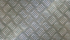 Checker plate background Stock Images