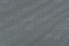Checker plate. Background of  checker steel plate Stock Image