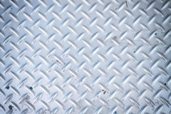 Checker plate Stock Photography