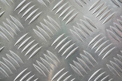 Checker plate texture stock image
