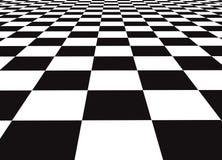 checker podłogi Zdjęcia Royalty Free