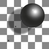 Checker Shadow Illusion Chessboard Royalty Free Stock Images