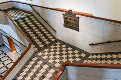 Checker Stairway royalty free stock images
