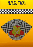 Checker Taxi Cab produced by the Checker Motors Corporation Stock Photography