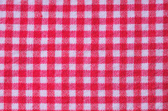 Checker textile background. Macro view of the checker textile background royalty free stock images