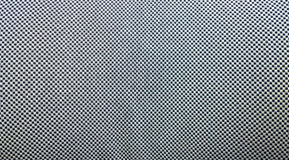 Checker Texture. Close-up of black and white checker fabric texture Stock Photography