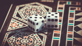 Checkerboard παιχνίδι Στοκ Εικόνες