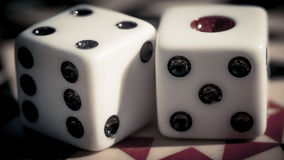 Checkerboard παιχνίδι Στοκ Εικόνα