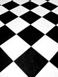 Checkerboard. Black and white checkerboard pattern Royalty Free Stock Image