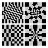 Checkerboard Background Stock Photo