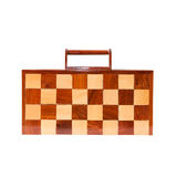 Checkerboard bag. Isolated on white background Royalty Free Stock Image
