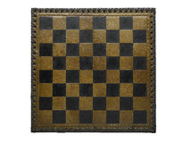 Checkerboard chess game Royalty Free Stock Image