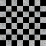 Checkerboard Concrete Pattern Royalty Free Stock Photo