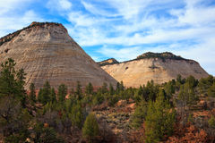 Checkerboard Mesa Royalty Free Stock Photo