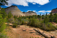 Checkerboard Mesa Royalty Free Stock Photos