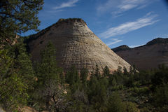 Checkerboard Mesa Α στοκ φωτογραφία με δικαίωμα ελεύθερης χρήσης