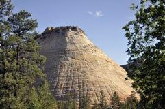 Checkerboard Mesa. At Zion National Park Royalty Free Stock Photos