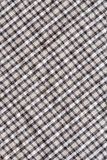 Checkerboard pattern cloth texture Royalty Free Stock Images