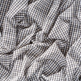 Checkerboard pattern cloth texture. Close up wrinkled old and dirty checkerboard pattern cloth texture Royalty Free Stock Image