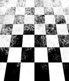 Checkerboard Perspective Royalty Free Stock Photos