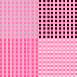 Checkerboard Pink Background Stock Photos