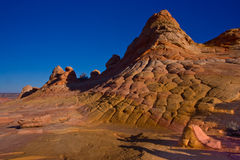 Checkerboard Sandstone Butte Royalty Free Stock Image