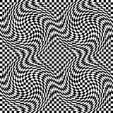 Checkerboard Warp Stock Image