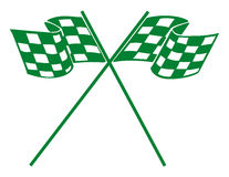 Checkerd racing flag Royalty Free Stock Photography