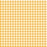 Checkered АПЕЛЬСИН картины скатерти бесконечно иллюстрация вектора