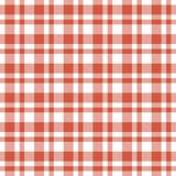 checkered безшовная картина одежды таблицы Стоковое Фото
