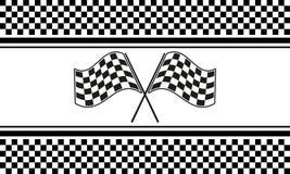 Checkered вектор предпосылки Стоковое Изображение