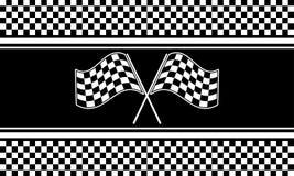 Checkered вектор предпосылки Стоковые Фотографии RF
